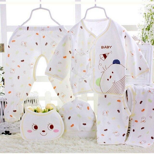 c8134ae00c913 5pcs/set Newborn gift Baby Clothing Set for 0 3M 5pcs/set Baby Girl ...