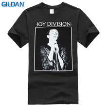 T Shirt Logo Crew Neck Men Joy Division Here Are The Young Rock Order Smiths Black  Fashion Short Shirts