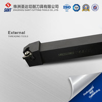 SWR2525M22 25X25 mm External Threading Toolholder for Inserts ISO Standard 22ER