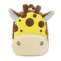 3D Cartoon Plush Children Backpacks Kindergarten Schoolbag Animal Kids Backpack Children School Bags Girls Boys Backpacks