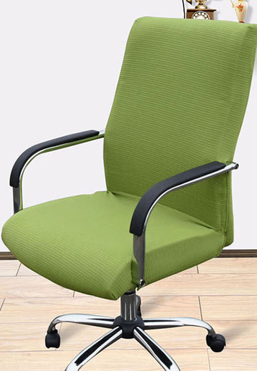 1//6 Scale Adjustable Computer Chair Green Chair Model for Scene Accessories