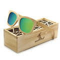 BOBO BIRD Brand Sunglasses Man Luxury Handmade Wild Style Bamboo Polarized Sun Glasses steampunk with Vintage Oculos 2017