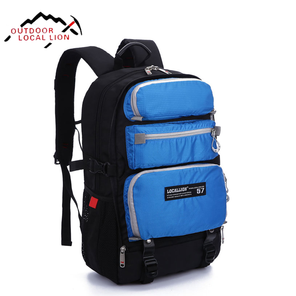 LOCAL LION Outdoor Backpack Women Travel Backpacks Waterproof Backpack For Outdoor Backpacks Camping Travel Bag Sports Bag 22L local apparel