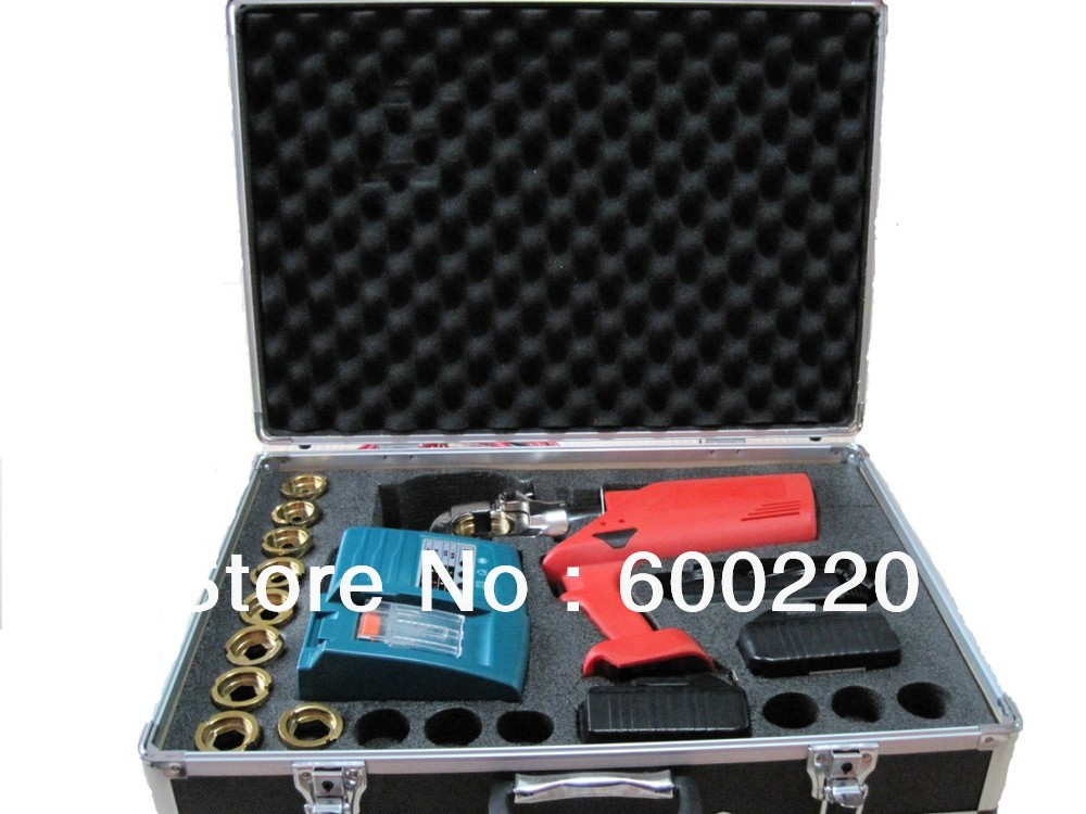 Battery Powered crimping tools EC-300 baterry hydraulic tool free shipping 16 400mm2 baterry hydraulic crimper crimping tool