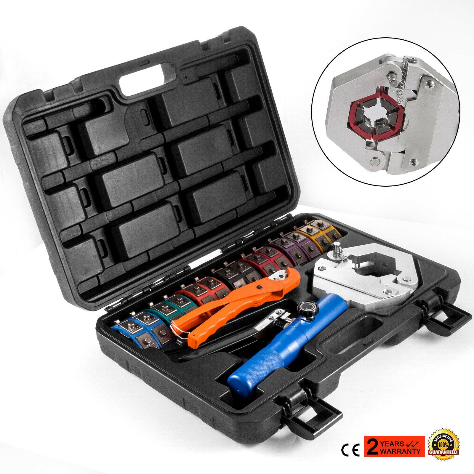 71500 A//C Hydraulic Hose Crimper Tool Kit Hand Tool Crimping Set Hose Fittings