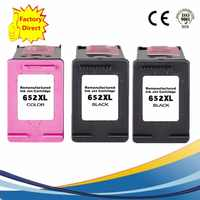652 XL 652XL Ink Cartridges Remanufactured For  HP652XL HP652 Deskjet Advantage 1015 1515 2515 2545 2645 3515 3545 4515 4645