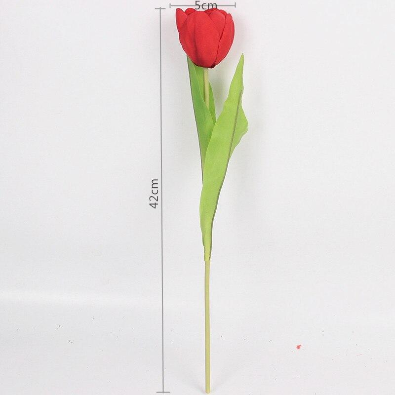 JAROWN Dirbtinis Tulpė Gėlių Šilko Gėlės Fake spalvinga - Šventės ir vakarėliai - Nuotrauka 6