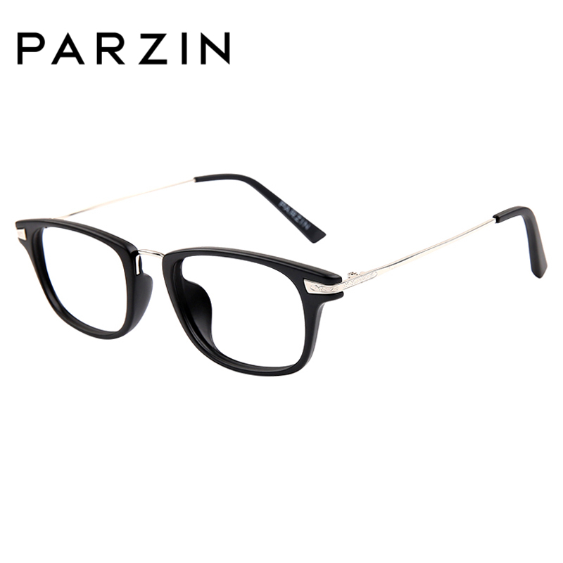 875544fee2c PARZIN TR90 Big Frames With Clear Lenses For Myopia Glasses Prescription  Optics Frames Online Store Eyewear Accessories 5018-in Eyewear Frames from  Men s ...