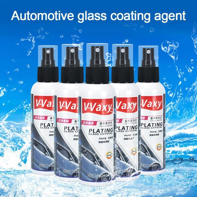 Ветрозащитные стекла для автомобиля, керамическое покрытие для автомобиля, дождеотталкивающее покрытие для заднего вида, нанопокрытие из стекла, жидкое покрытие для автомобильного стекла