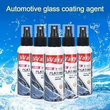 車のフロントガラスセラミック車コーティングバックミラー雨よけコーティングナノコーティングされたガラス PlatedCrystal 液体車ガラスコーティング