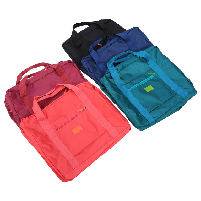 38f989b904 5Colors Travel Foldable Luggage Carry-On Duffle Bag Clothes Storage With Big  Size Hot New