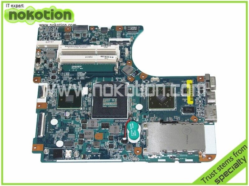 A1771579A MBX-225 Laptop Motherboard for Sony VPCEC Intel M980 8 Layer REV 1.1 1P-009CJ00-8011 ATI HD 5470M Logic Board