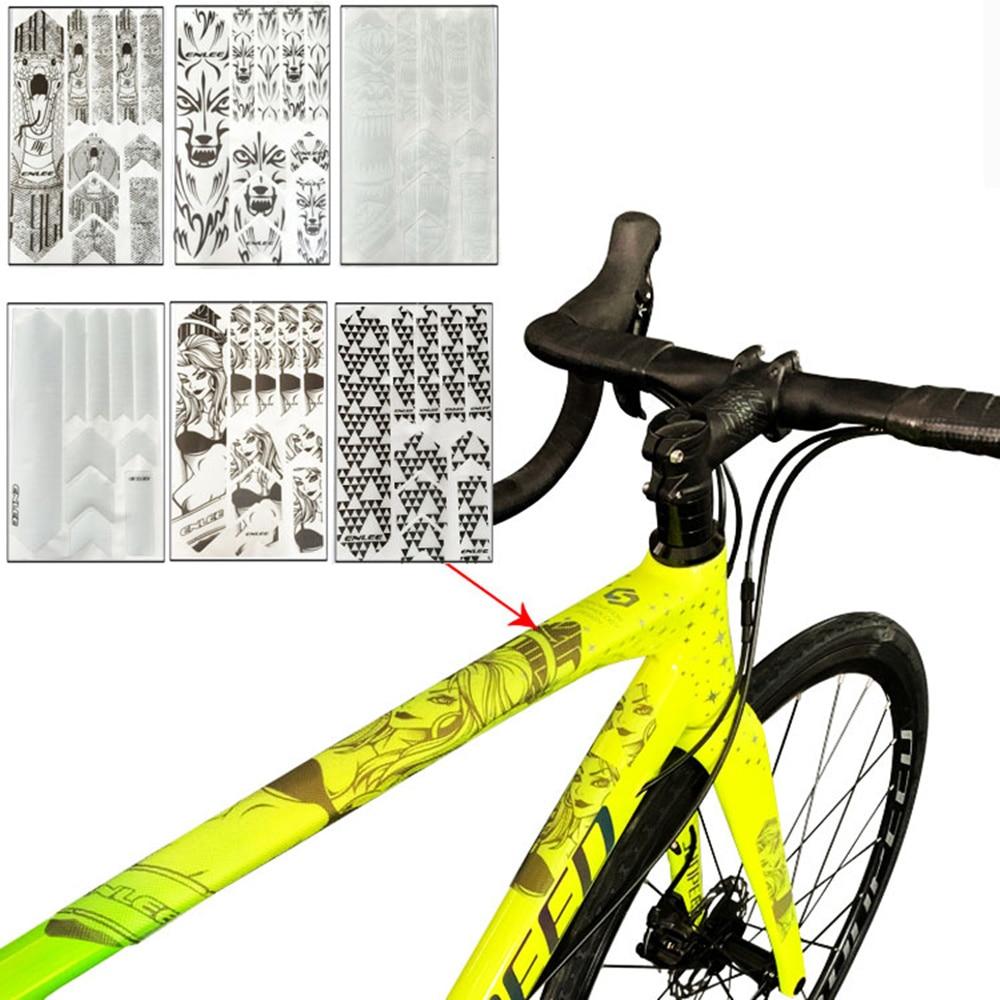 3D vtt VTT résistant aux rayures protection cadre protecteur amovible autocollant route vélo Paster garde couverture pour YT Capra