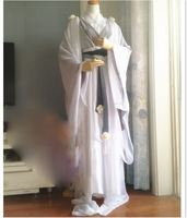 4 Designs Simple Elegant Light Color Fairy Costume Hanfu Cos White Snake or Fox Fairy Hanfu for TV Play Photpgraphy Cosplay
