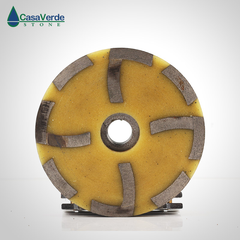 Free Shipping Fine# 4 Inch Diamond Filling Resin Grinding Cup Wheels M14 Or 5/8-11 Thread For Grinding Concrete And Stone