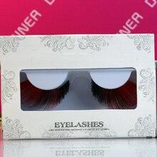 Artistic Colored False Drag Queen Eyelashes