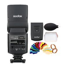 Godox TT520II Flash Built-in Signal for Canon Nikon Pentax Olympus Cameras Supports