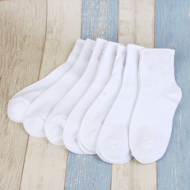 5 Pairs Women Short   Socks   Solid Black White Gray Female/Male Summer Spring Women's Casual Cotton   Sock   Drop Shipping