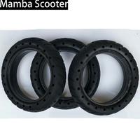 2 Pcs Hollow Non Pneumatic Tires Reinforcing Rib Damping Solid Tyres 8 1 2x2 For Xiaomi