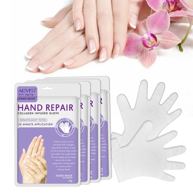 Nueva Máscara de mano de cera de parafina máscara Exfoliante para manos Peeling nutrir la humedad blanqueamiento crema manos guantes cuidado de la piel