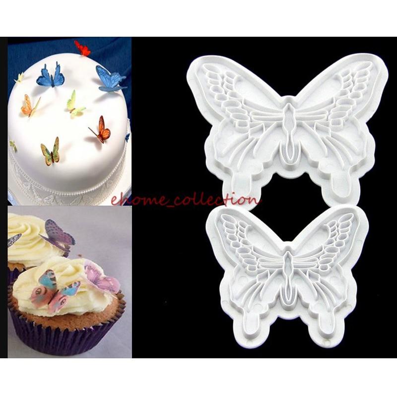 Plum Shape Fondant Mould Cake Cookie Sugar Craft Cutter Plunger Baking Tool WA