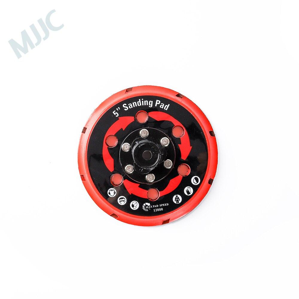 MJJC Marca Placa de Apoio para Dupla Ação Polidor, polidor DA Placa de Apoio, voltar titular 5 polegada (125mm) e 6 polegada (150mm)