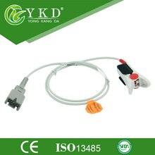 Masimo 1863/LNCS DCI tipo adulto clipe de dedo spo2 sensor, DB9pins