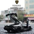 1:29 coches modelo Venen0 Luz, sonido DIY Inteligente Modelo de Metal de Coches de Juguete para el Juego de Niños Juguetes de La Vendimia