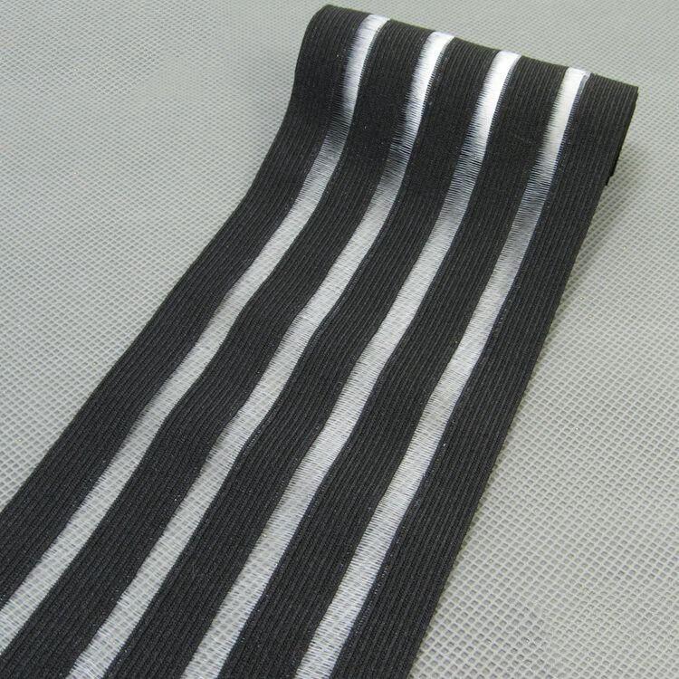 2 метра 9 см модные эластичные ленты кружева ленты пояс ремни резинка DIY девушка платье брюки юбка аксессуары для одежды - Цвет: black
