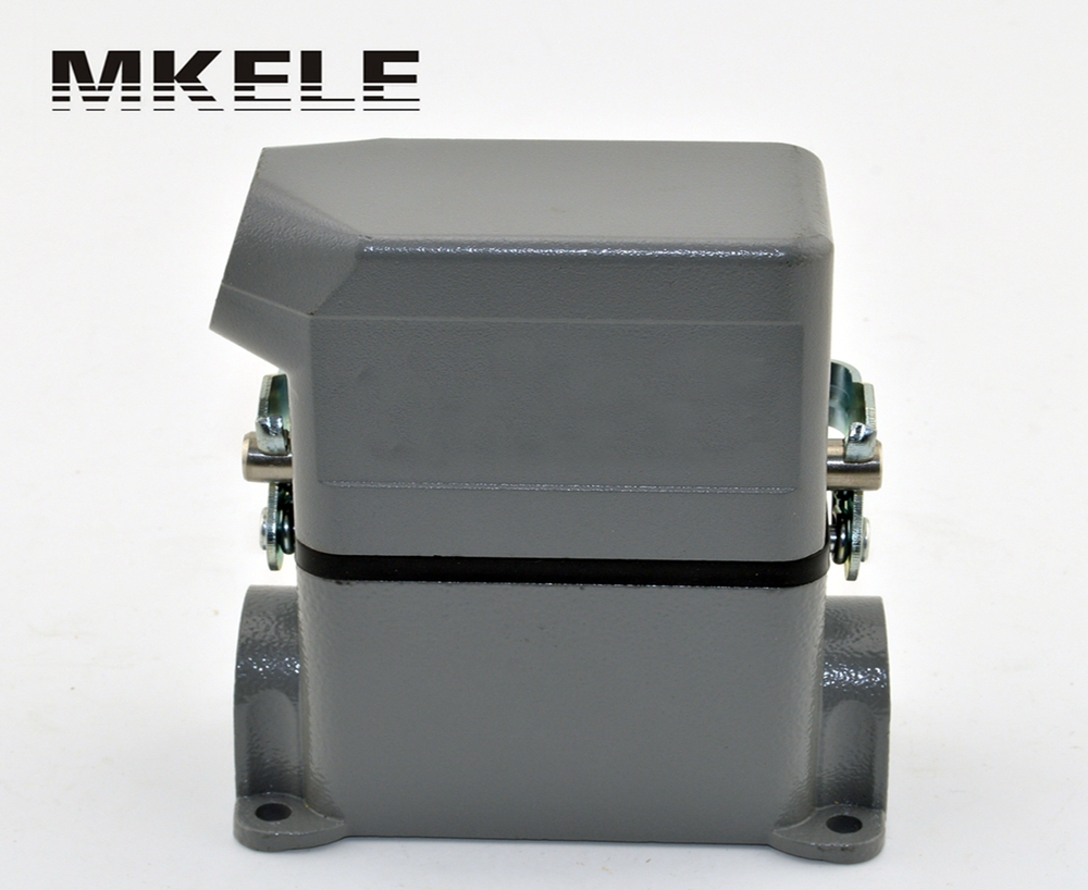 MK-HE-010-3D heavy duty industrial lightning connectors from heavy duty connector manufacturer for wind power generation he 024 4d 16a terminal block power crimp plug heavy duty connectors for spinning and packing machine