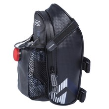 ROSWHEEL Waterproof Cycling Rear Seat Tail Bag MTB Bike Rear Bag Bicycle Tail Light Saddle Bag with Water Bottle Pannier