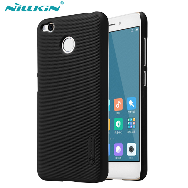 For Xiaomi Redmi 4X case XiaoMi Redmi 4X Cover NILLKIN Super Frosted Shield Hard Matte Back Cover With free screen protector