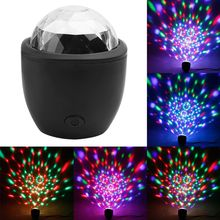 Disco Ball Lamp Stage-Light Magic-Effect Sound-Actived Party Multicolor Mini New 3W LED