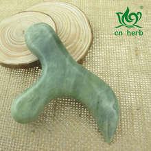 лучшая цена Cn Herb Natural Xiuyan jade massage sticks massage sticks point sticks Foot massage sticks