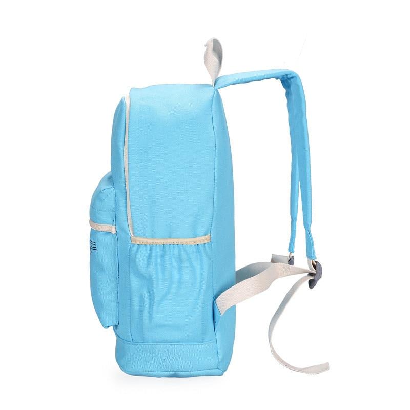 fondhere 3 Pcs/set Canvas Women Backpack Set Ladies Tower Printing School Bags For Teenagers Girls Shoulder Travel Rucksack