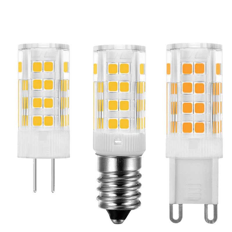 G4 G9 E14 Led Bulb Light AC 220V 5W 7W 9W 12W 15W 18W LED Corn Bulb SMD2835 Ceramics Light lamps For Crystal Chandelier Lighting