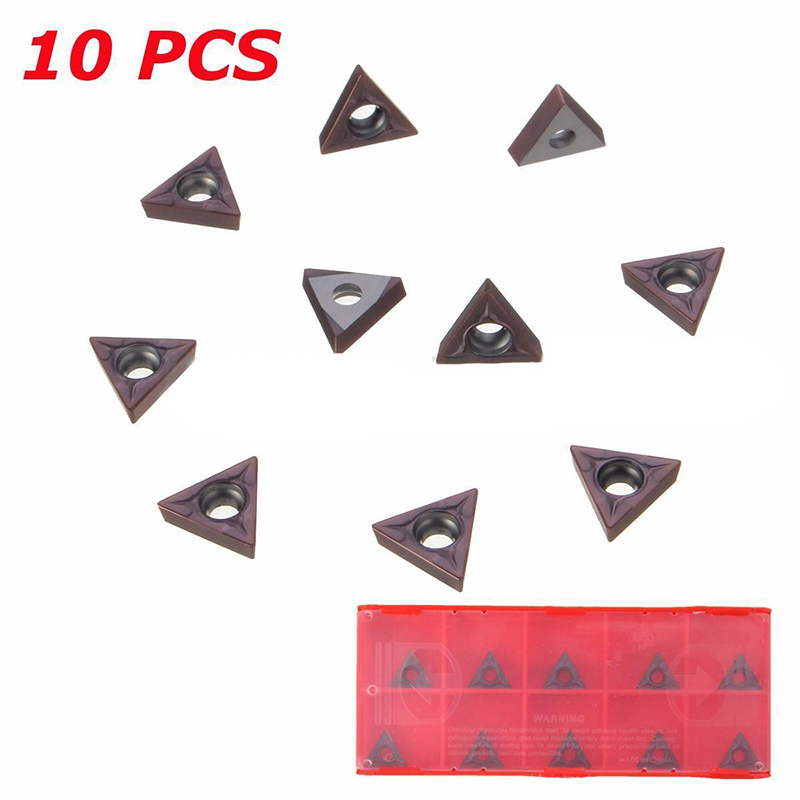 10pcs Carbide Inserts TCMT110204/TCMT 731 Inserts For Lathe Turning Boring Tool indexable internal threading inserts carbide inserts 16ir ag60 lathe cutter for thread turning