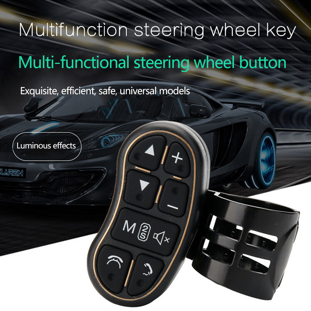 Car Steering Wheel Buttons Wireless Remote Control For Universal Stereo DVD Car MP5