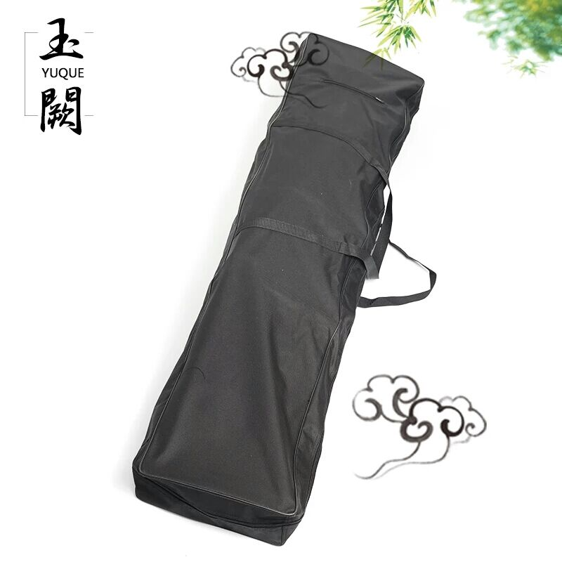 Yuque Guzheng Black Nylon Waterproof Carring Case / Portable Guzheng Bag / Case Cover For Guzheng Travel Bag