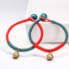 Original Women Lucky  Fish Bracelets Bead Red String Ceramic bracelets & bangles Men Handmade Accessories Lovers Jewelry