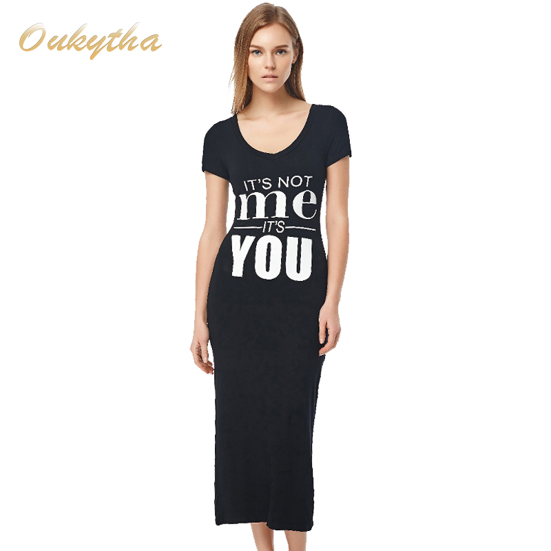 V neck t shirt maxi dress