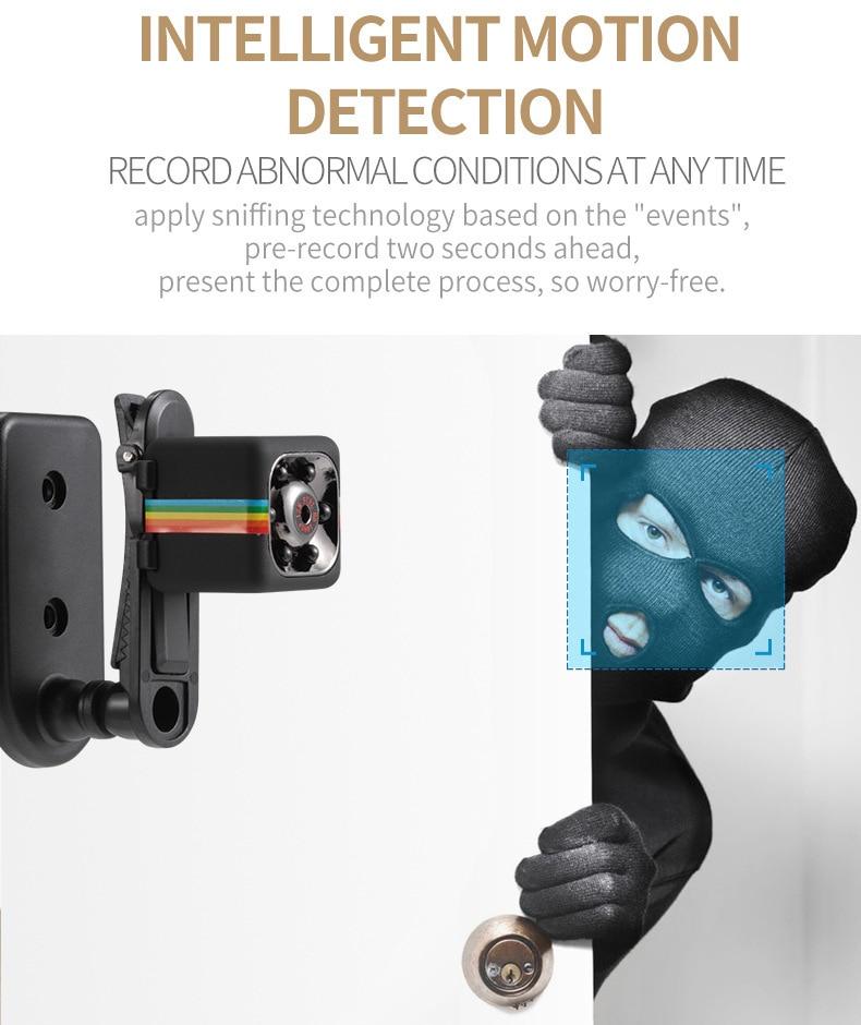 SQ11 HD Camera 1080P Night Vision Camcorder Camera 12MP video Camera DVR DV Motion Recorder Camcorder 10