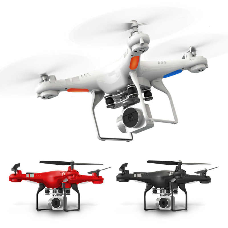 New RC Drone with HD 5MP Camera Altitude Hold One Key Return/Landing/Take Off Headless Mode 2.4G RC Quadcopter Drone