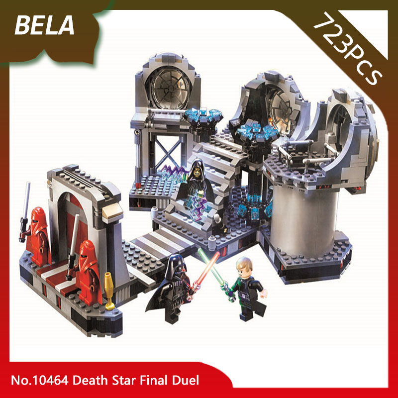 Bela 10464 723pcs Star Series Wars The Death Star Final Duel Model Building Blocks Classic Toys For Kids Gifts Compatible 75093 bela 10464 star wars death star final duel bricks building block compatible with lepin