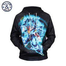 Фотография Mr.BaoLong New Dragon Ball Z Son Goku Vegeta 3D Print Pullover Men Women Anime Hooded Sweatshirt Dragonball Cartoon Hoodies