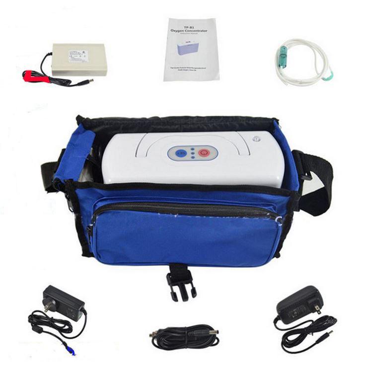 110V Mini Easy Using Oxygen Concentrator Machine Portable Oxygen Generator 3L/MIN 32W