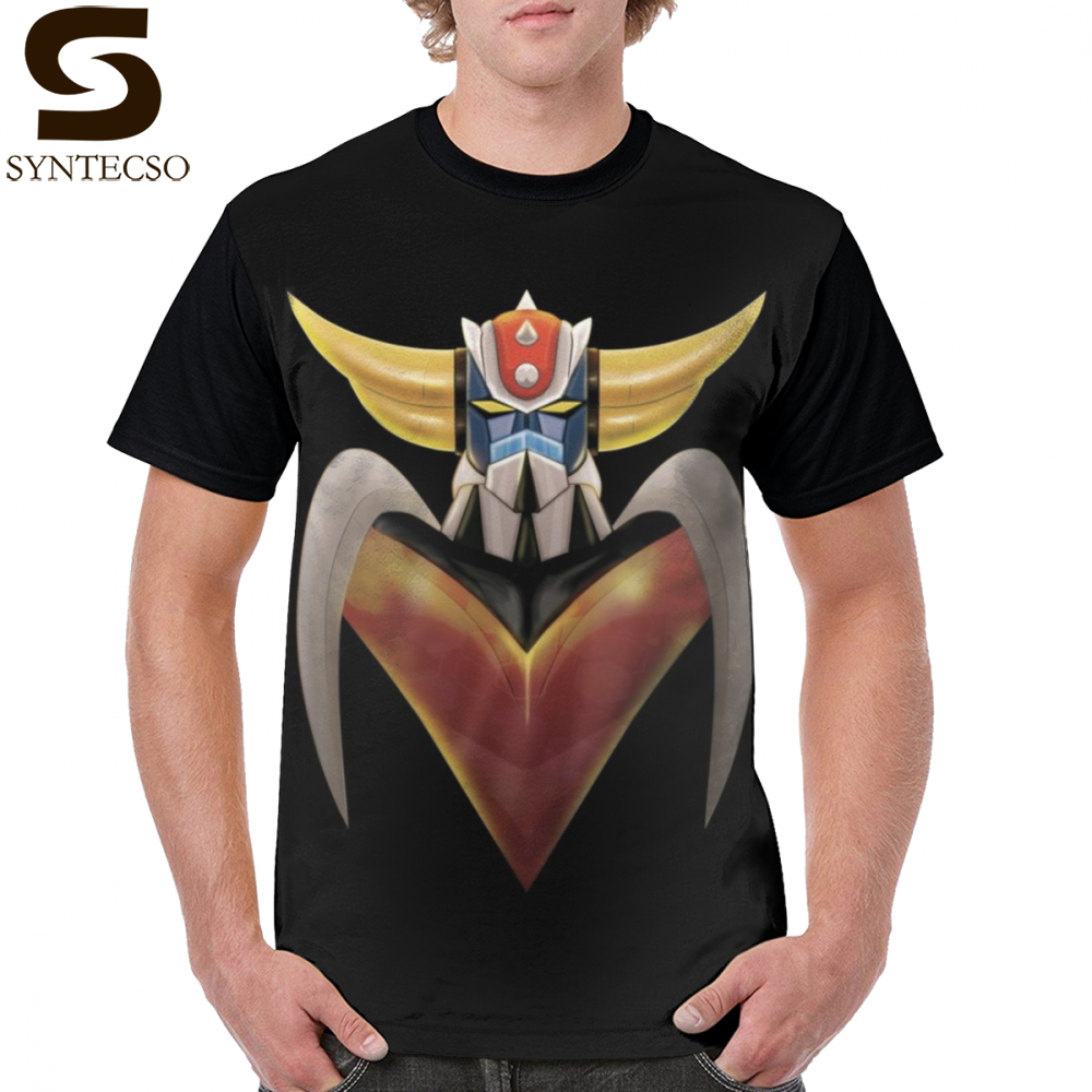 Goldorak T Shirt UFO ROBO Grendizer T-Shirt 100 Polyester Fashion Graphic Tee Shirt Mens Printed Short-Sleeve Funny 5x Tshirt
