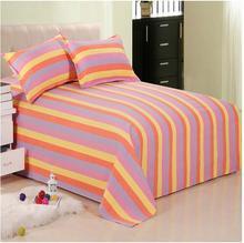 Envío libre de la raya 3 unids adulto Tradicional viejo manual paño hojas doble/solo dormitorio hoja de engrosamiento 2 m cama funda de almohada