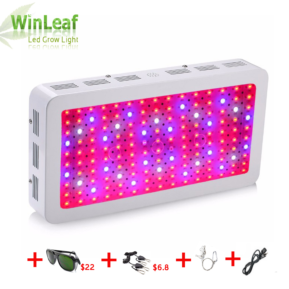 led grow plant lamp Double Chips Full Spectrum 1200W 1500W 1800W 410-730nm uv light for indoor plants LED grow light цены