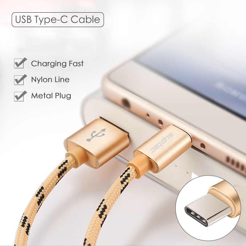 Καλώδιο δεδομένων SUPTEC USB Type C USB Type-C Fast - Ανταλλακτικά και αξεσουάρ κινητών τηλεφώνων - Φωτογραφία 2